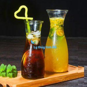 ly thuy tinh eo 350ml cafe tra sua